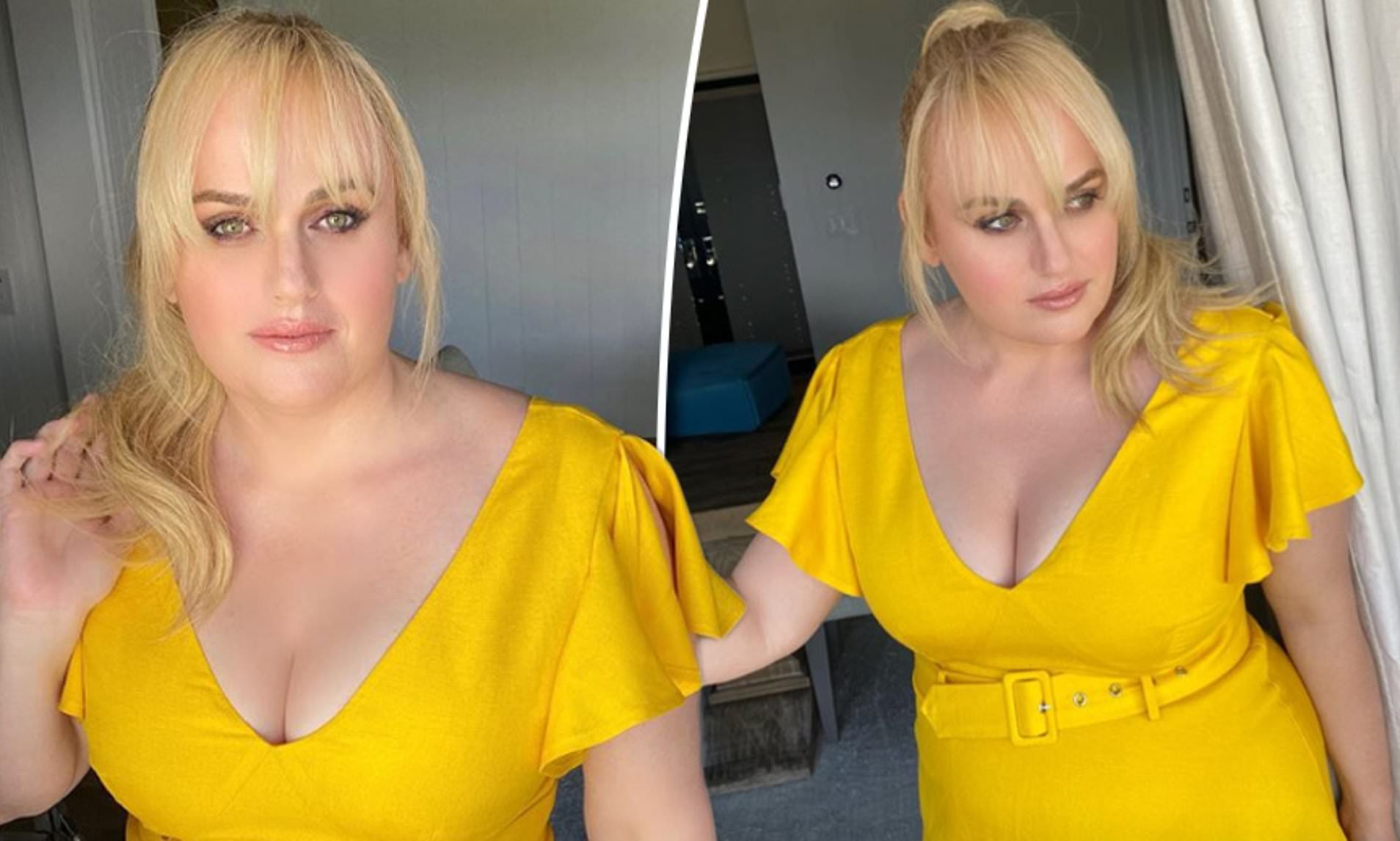 """rebel-wilson-stuns-in-yellow-dress-as-she-shows-off-her-incredible-weight-loss-results"""