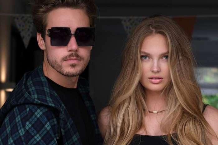 Romee Strijd Puts Her Baby Bump On Display In Bayu The Label Two Piece Bathing Suit