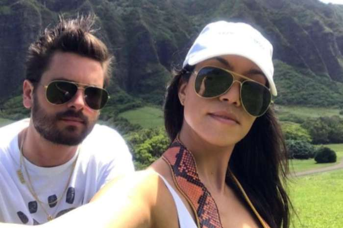 Kourtney Kardashian And Scott Disick Go Out To Eat And Sofia Richie Showed Up! See The Pics!