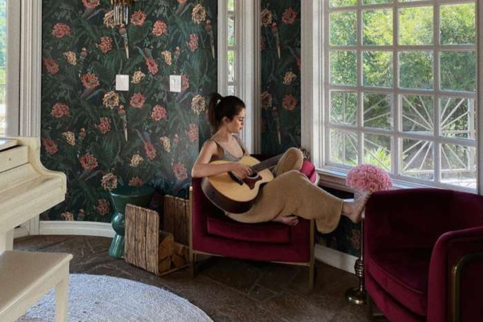Selena Gomez Is Gorgeous In Free People Sweater Set As She Reveals She's Taking Guitar Lessons