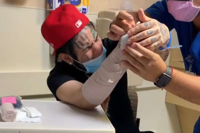 Tekashi 6ix9ine Shares Video From Hospital, Revealing How He Really Injured His Arm - See Video