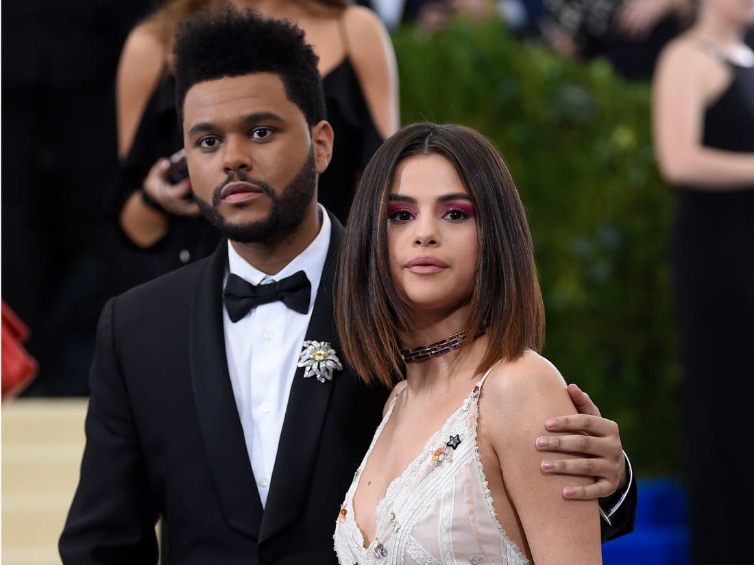 """the-weeknd-says-that-writing-songs-about-his-split-from-selena-gomez-felt-cathartic"""