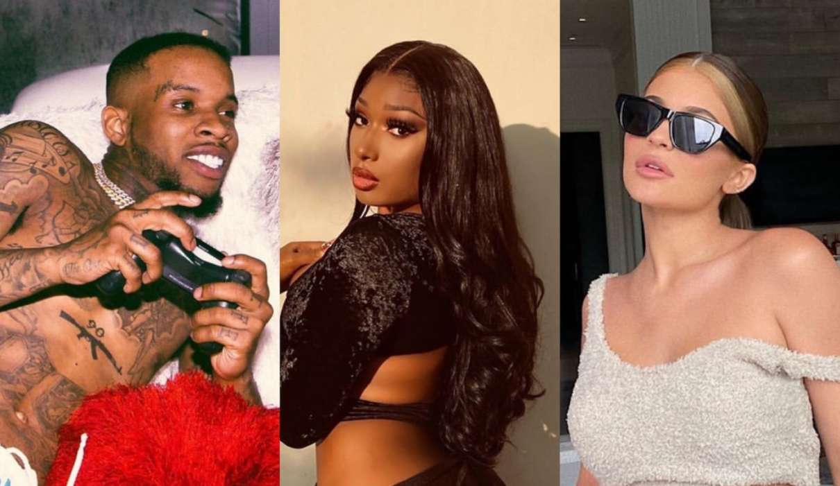 Tory Lanez Megan Thee Stallion and Kylie Jenner