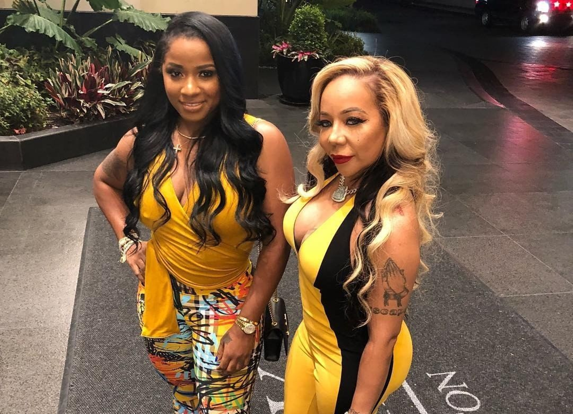 Toya Johnson Supported Tiny Harris With Her New Show's Debut