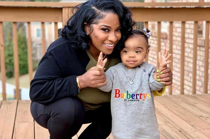Toya Johnson's Photo Featuring Baby Reign Rushing Will Make Your Day - See Her Gorgeous Rainbow Outfit!