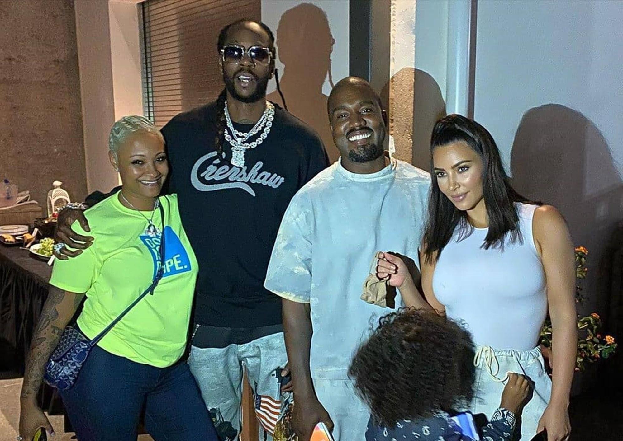 2 Chainz Kanye West Kim Kardashian Sunday Service