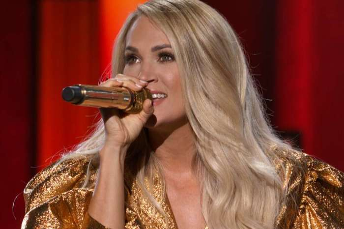 Carrie Underwood And Thomas Rhett Make History By Both Winning Entertainer Of The Year At The ACM Awards!