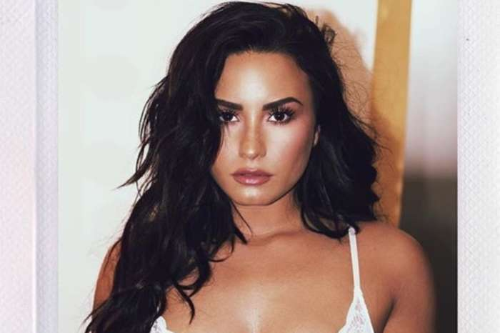Demi Lovato Shows Off Her Hourglass Figure In a Ruched, Floral Mini Dress