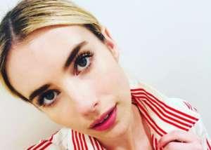 Emma Roberts Dazzles In Midi Dress