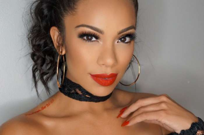 Erica Mena Flaunts Her Bare Face And Fans Are Completely In Love With Her Lips And Eyebrows - See The Clip