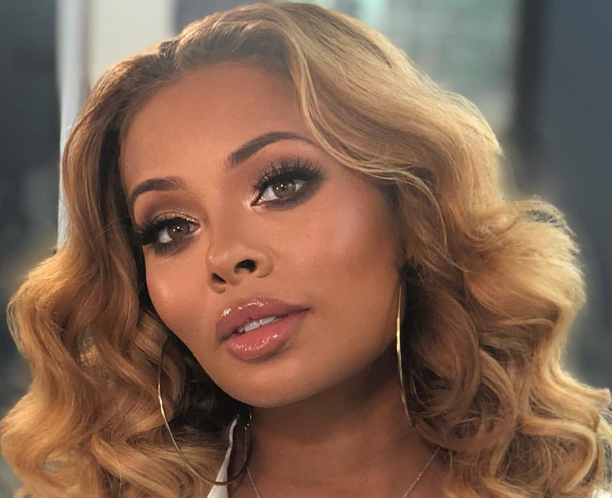 """eva-marcille-says-people-can-no-longer-afford-to-keep-their-heads-down"""