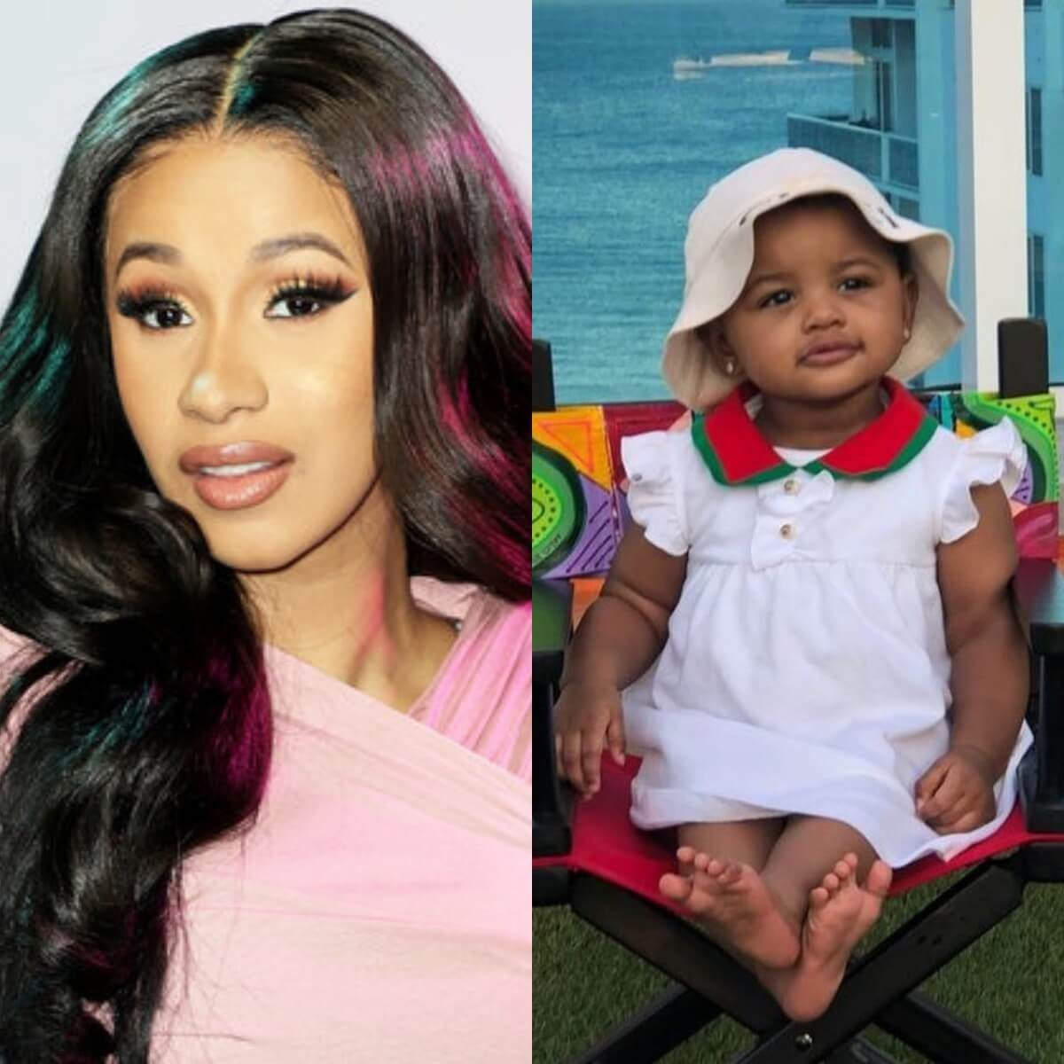 """cardi-b-is-twinning-with-her-baby-girl-check-out-the-photo-and-video-of-the-two-gorgeous-ladies"""