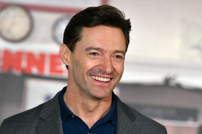 Hugh Jackman's Dog Appears In The Frame As The Actor Visits With 9-Year-Old Bone Marrow Recipient