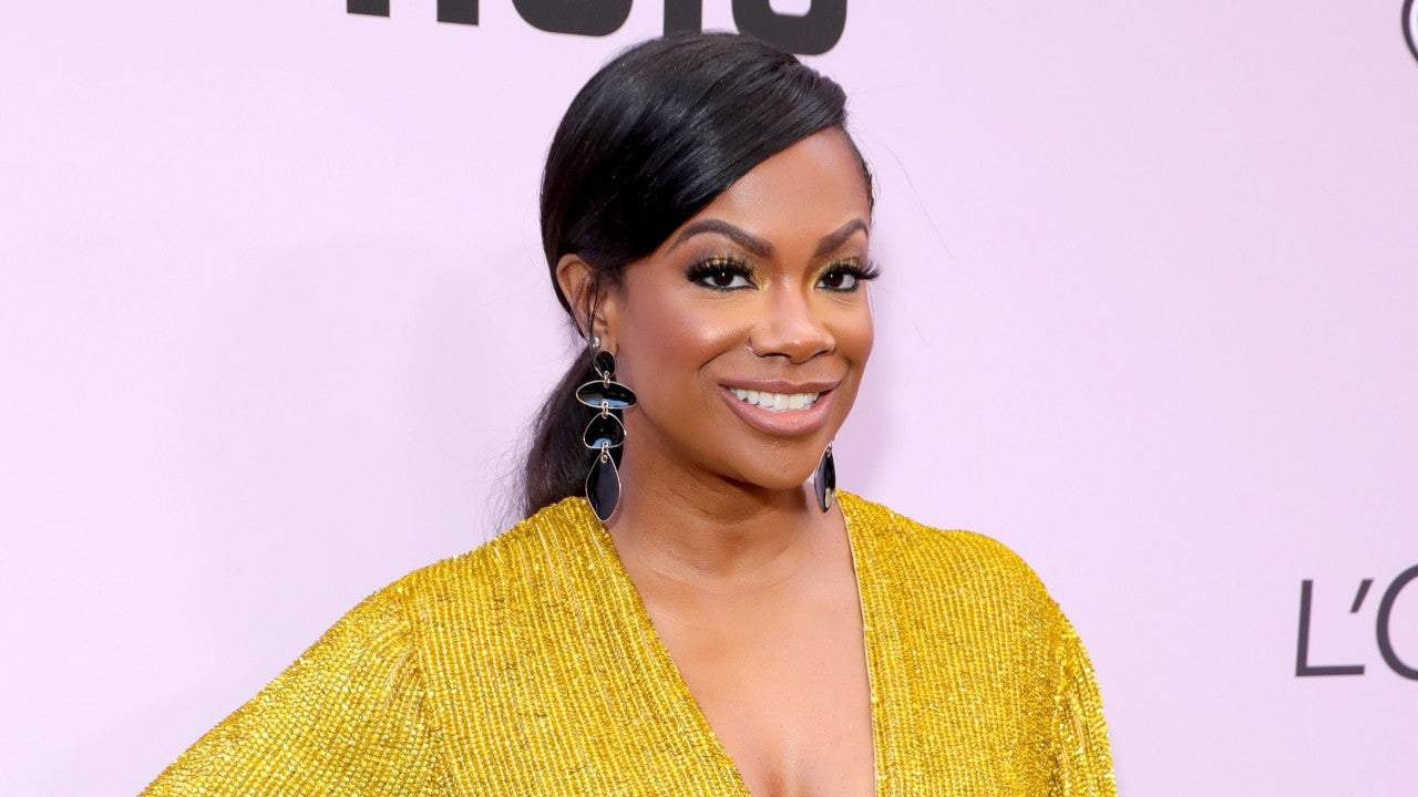 Kandi Burruss Impresses Her Fans With This Tie Dye Outfit From Her Tags Boutique