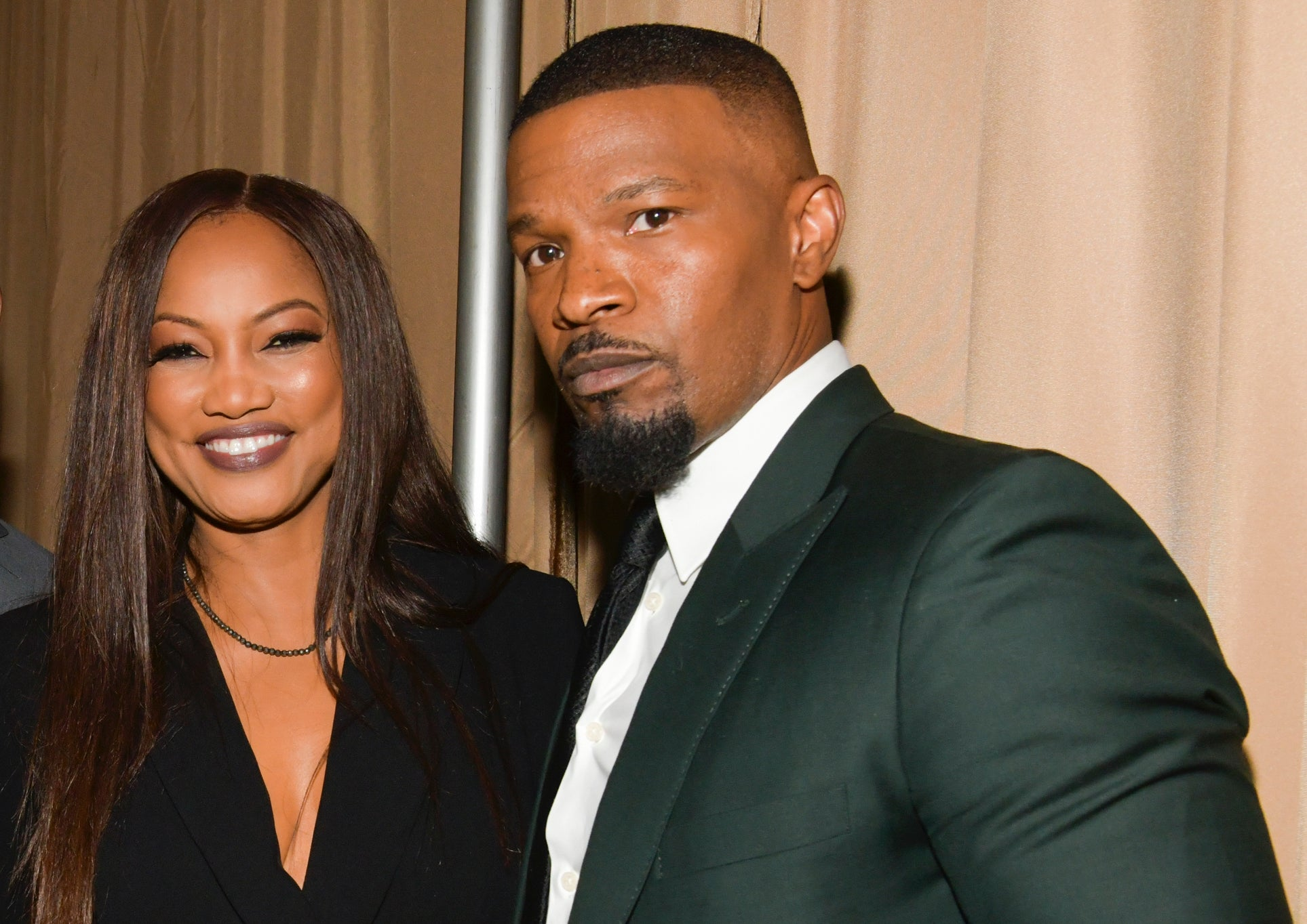 """jamie-foxx-flirts-with-former-on-screen-love-interest-garcelle-beauvais-says-they-shouldve-dated-in-real-life"""