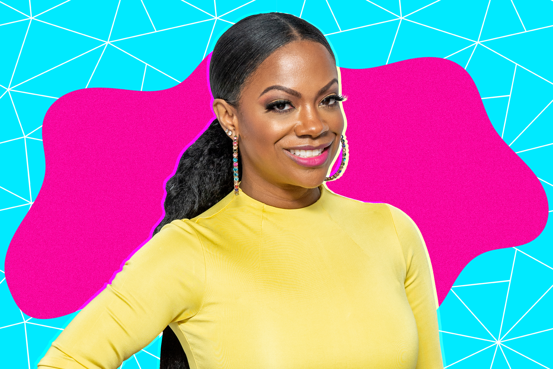 """kandi-burruss-is-pretty-in-pink-fans-say-she-is-twinning-with-riley-burruss"""