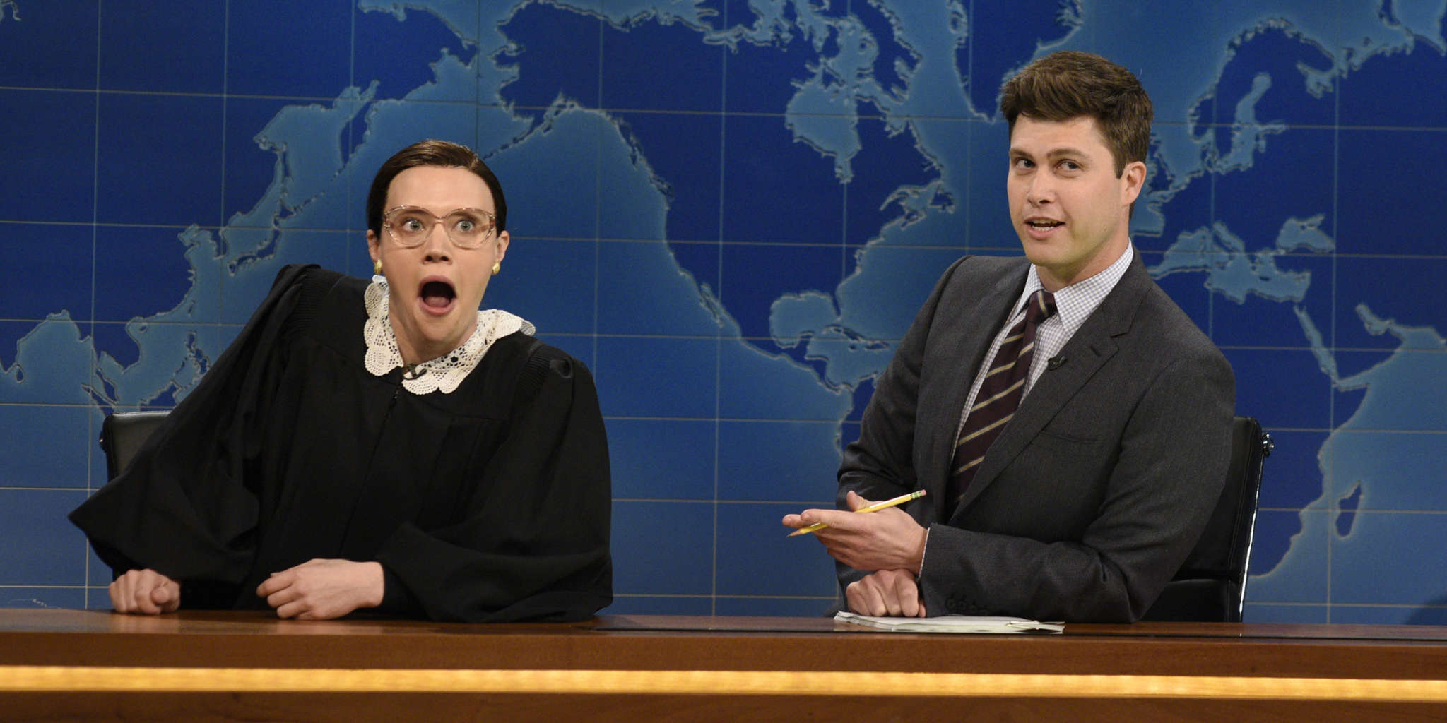 """""""kate-mckinnon-pays-tribute-to-ruth-bader-ginsburg-who-she-also-portrayed-on-snl"""""""