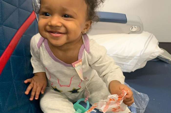 Kenya Moore's Baby Girl, Brooklyn Daly Shows Off Her Long Hair In This Video
