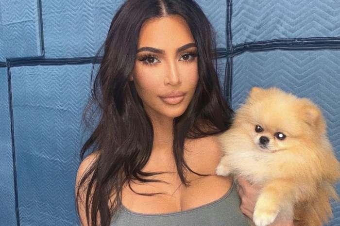 Kim Kardashian Flaunts Her Curves In See Through Mugler Outfit