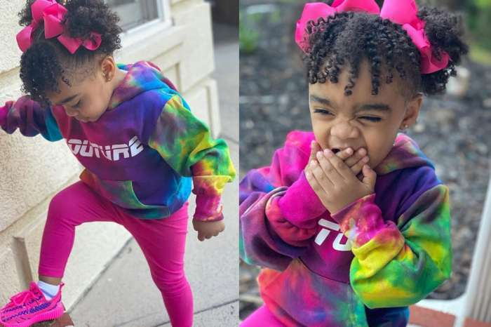 Toya Johnson Shows Fans Her And Reign Rushing's Happy Place - See Them Twinning At The Beach