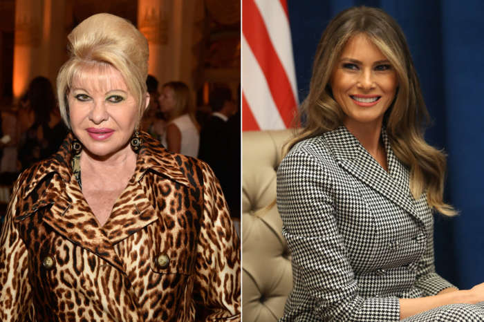 Ivana Trump Calls Melania Donald's 'Ex-Wife' During Interview