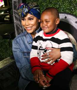 Tamar Braxton Offers Her Gratitude To Her Son, Logan, Following The Recent Drama: 'My Ace! My Hero! My Shield! My Best Friend!'