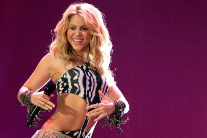 Shakira Looks Gorgeous In Bathing Suit She Made Herself - Check Out The Sultry Beach Pic!