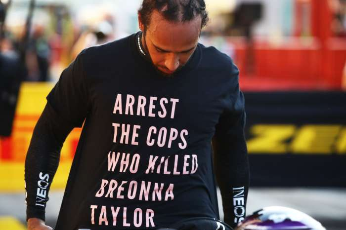 Lewis Hamilton Could Get In Trouble After Wearing A Breonna Taylor Tribute Shirt