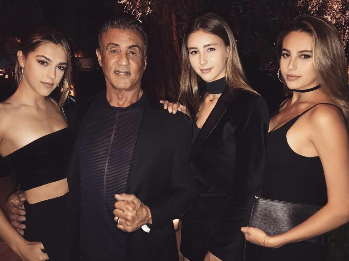 Sylvester Stallone's Daughters Say He's Helped Them Break ...