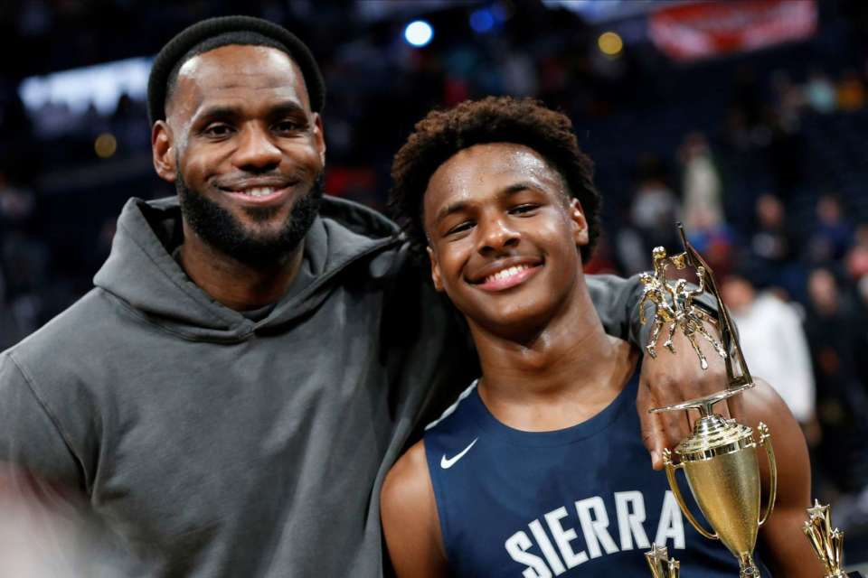 LeBron James Wishes His Son A Happy 16th Birthday - See His Emotional Message