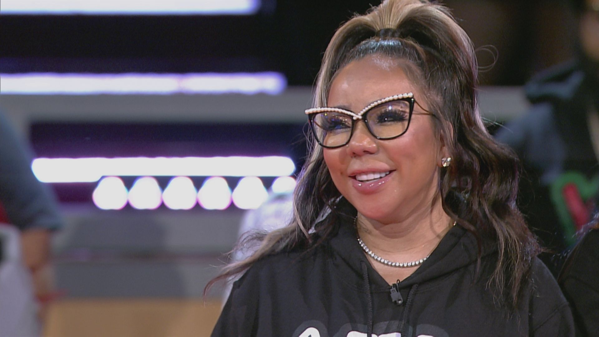 Tiny Harris Shares A Photo With Toya Johnson And Has Fans In Awe
