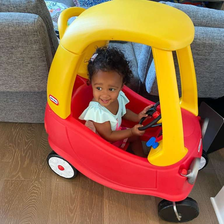 Kenya Moore S Baby Girl Brooklyn Daly S Photos At A Farm Will Make Your Day News Dome