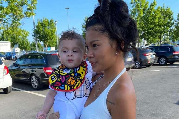 Ammika Harris' Photo Of Aeko Has Fans Smiling - He's Chris Brown's Mini-Me