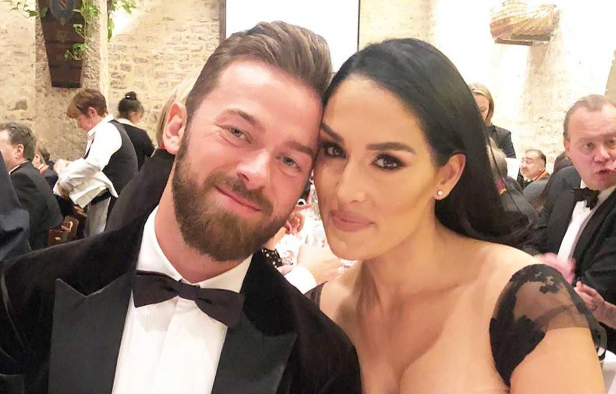 """artem-chigvintsev-and-nikki-bella-are-already-teaching-their-son-to-say-this-and-its-not-mom-and-dad"""