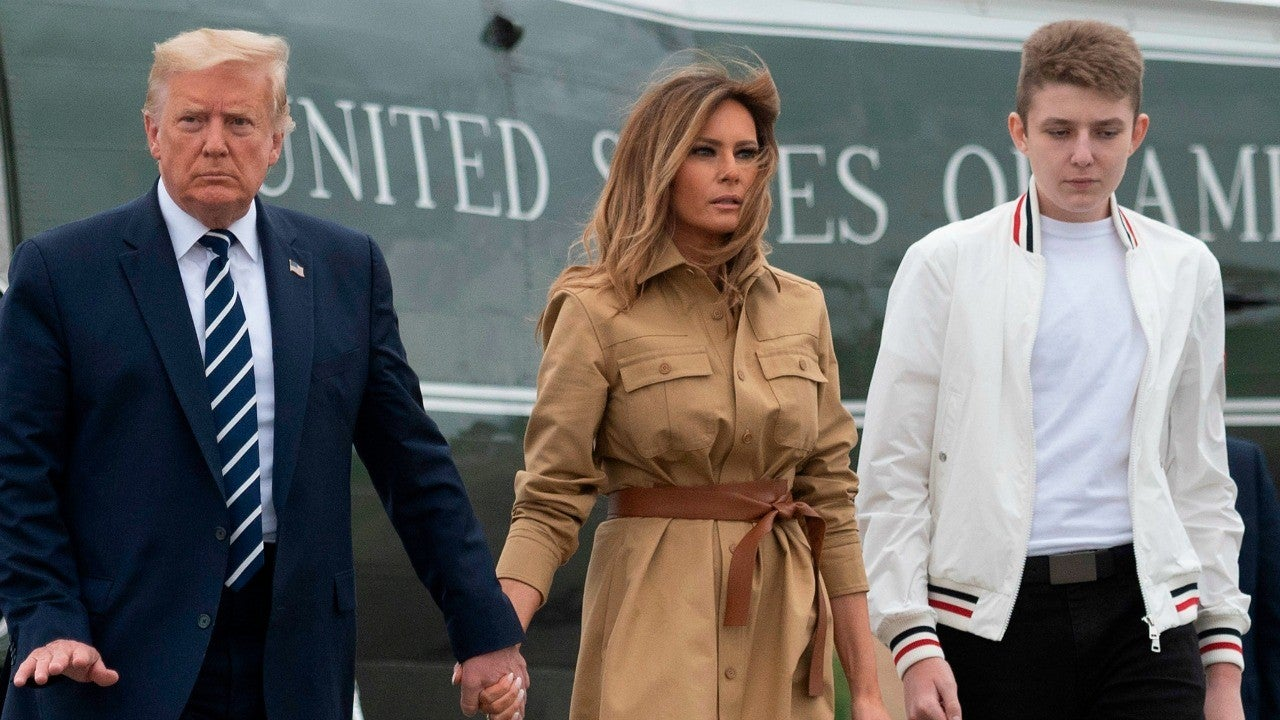 """melania-trump-reveals-son-barron-tested-positive-for-covid-19-as-well-in-white-house-website-essay"""
