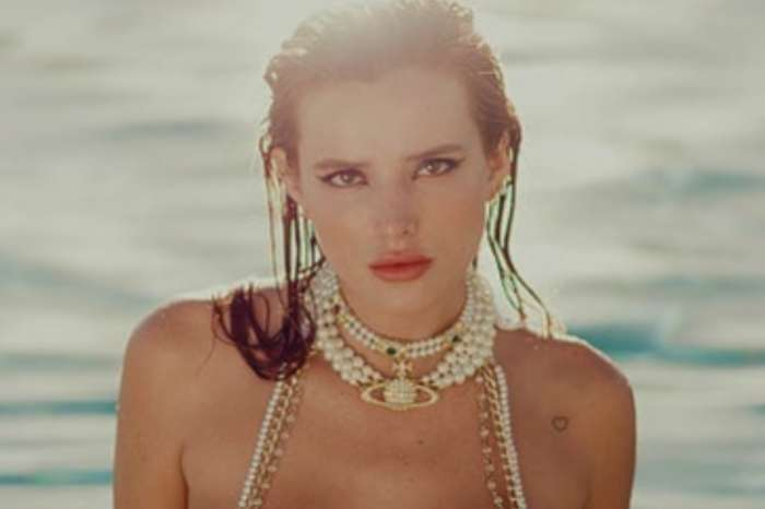 Bella Thorne Wears A Beach Bunny Two-Piece Bathing Suit And Gets Over One Million Views!