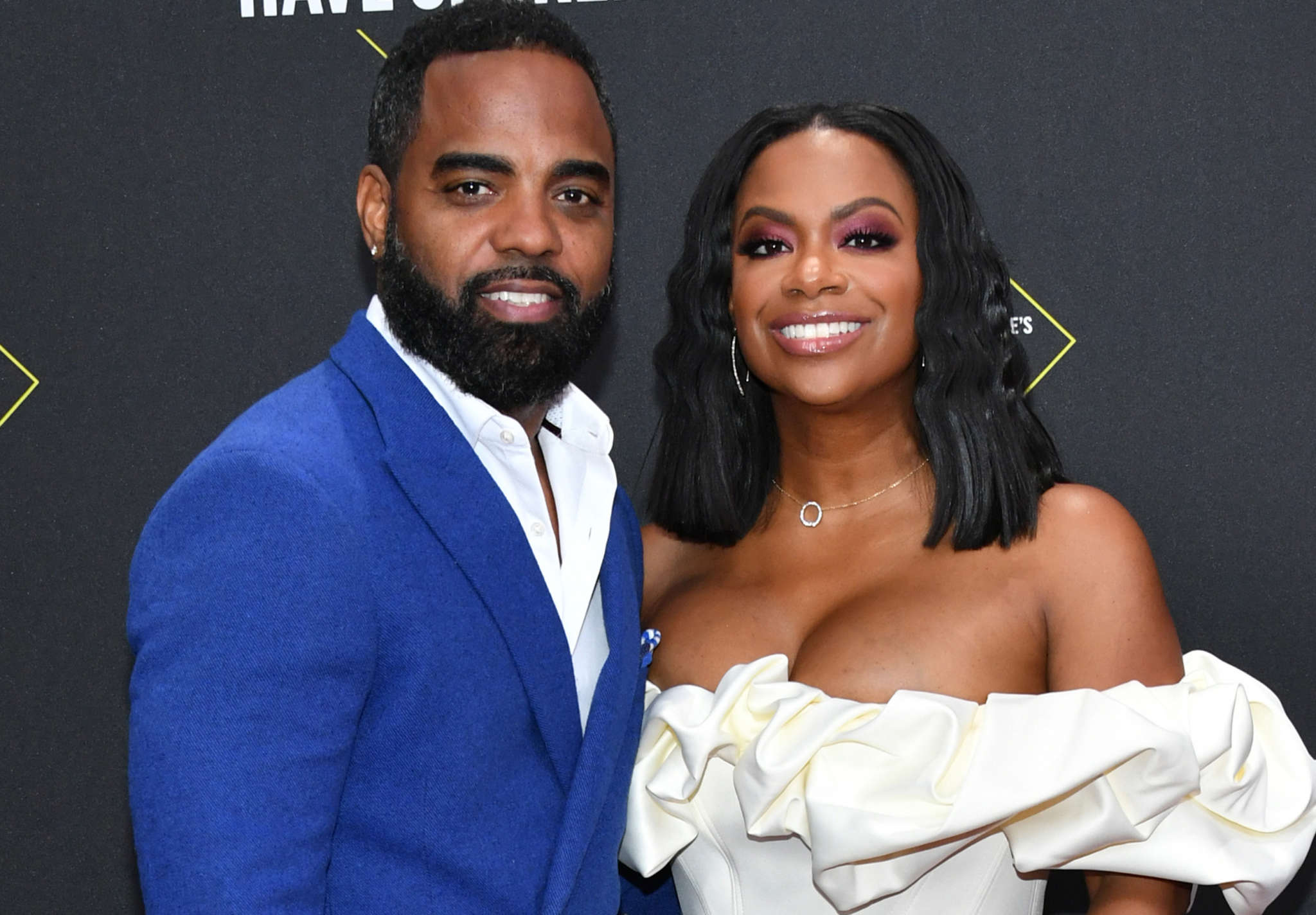 Kandi Burruss' Husband, Todd Tucker Congratulates Cynthia Bailey And Mike Hill And Shows Off His Wedding Look