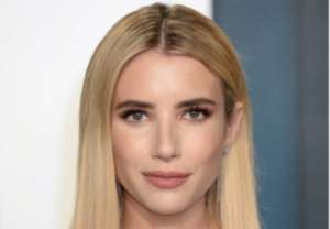 Emma Roberts Puts Her Growing Baby Bump On Full Display In Stine Goya Midi Dress