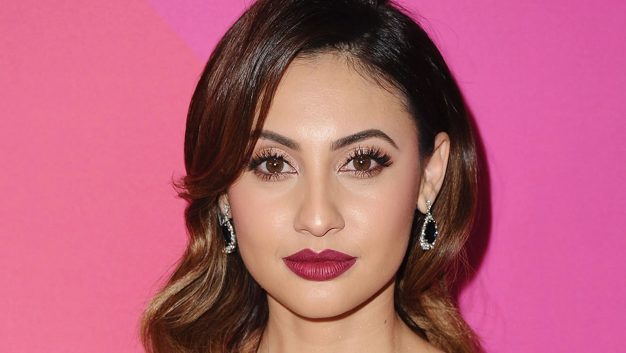 Francia Raisa President Donald Trump Supporters Freeway Fundraiser