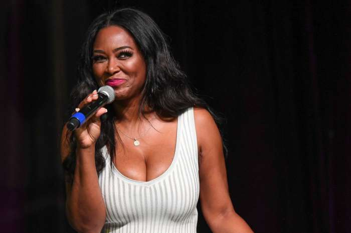 Kenya Moore's Purple Dress She Flaunted Recently Has Fans Criticizing Her Due To Her 'Certain Age'