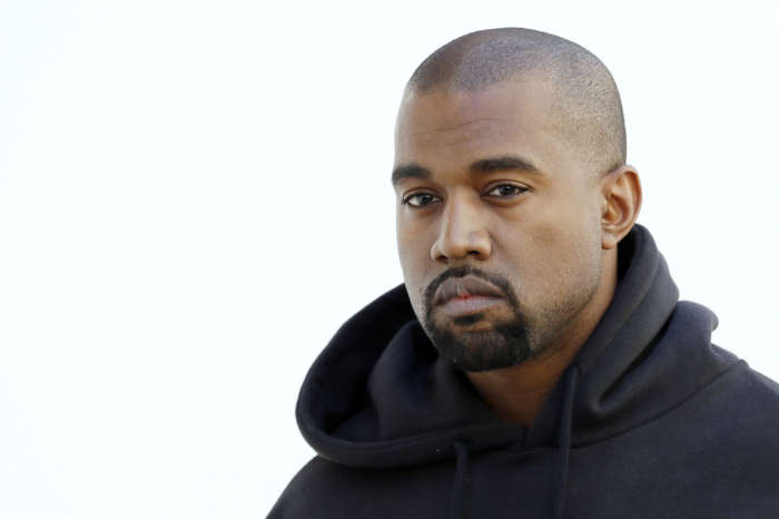Kanye West Shows Off His New All-Blue Muscle Costume Amid 2020 Campaign