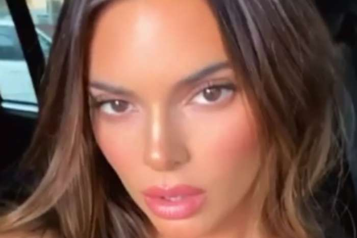 Kendall Jenner Leaves Little To The Imagination In Two-Piece Bathing Suit