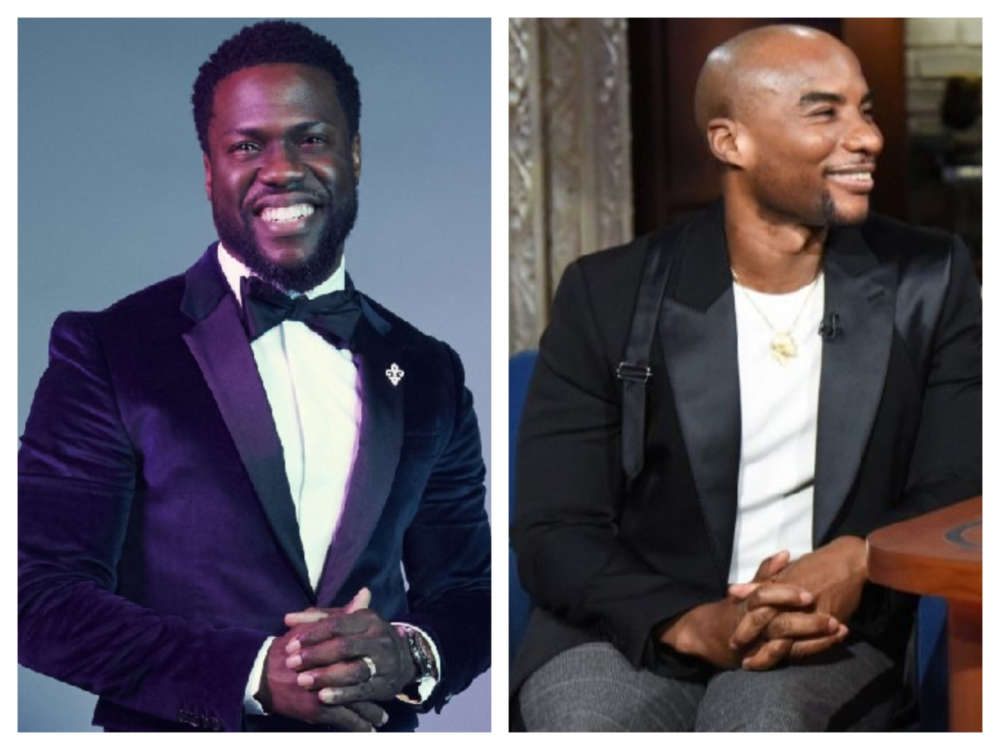 Kevin Hart and Charlamagne Tha God