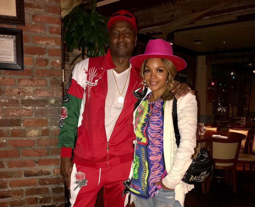Rasheeda Frost And Kirk Pose Together With Their Son, Ky Frost Following His 20th Anniversary