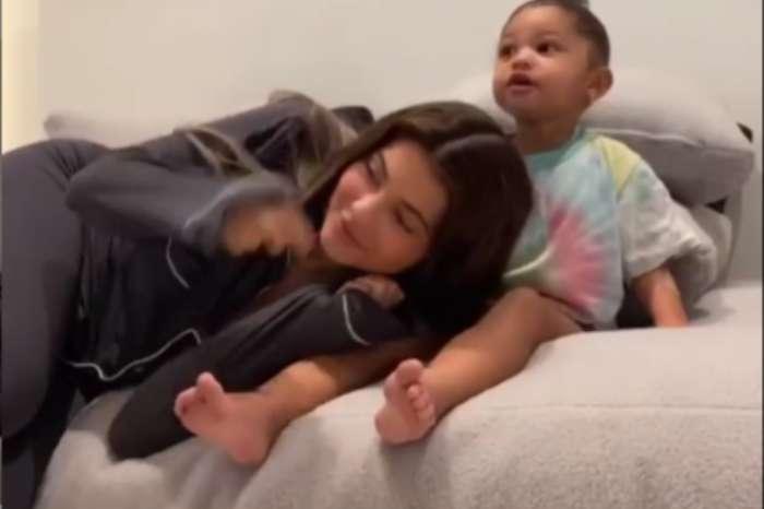 Stormi Webster Comforts Her Mother Kylie Jenner In Adorable Video