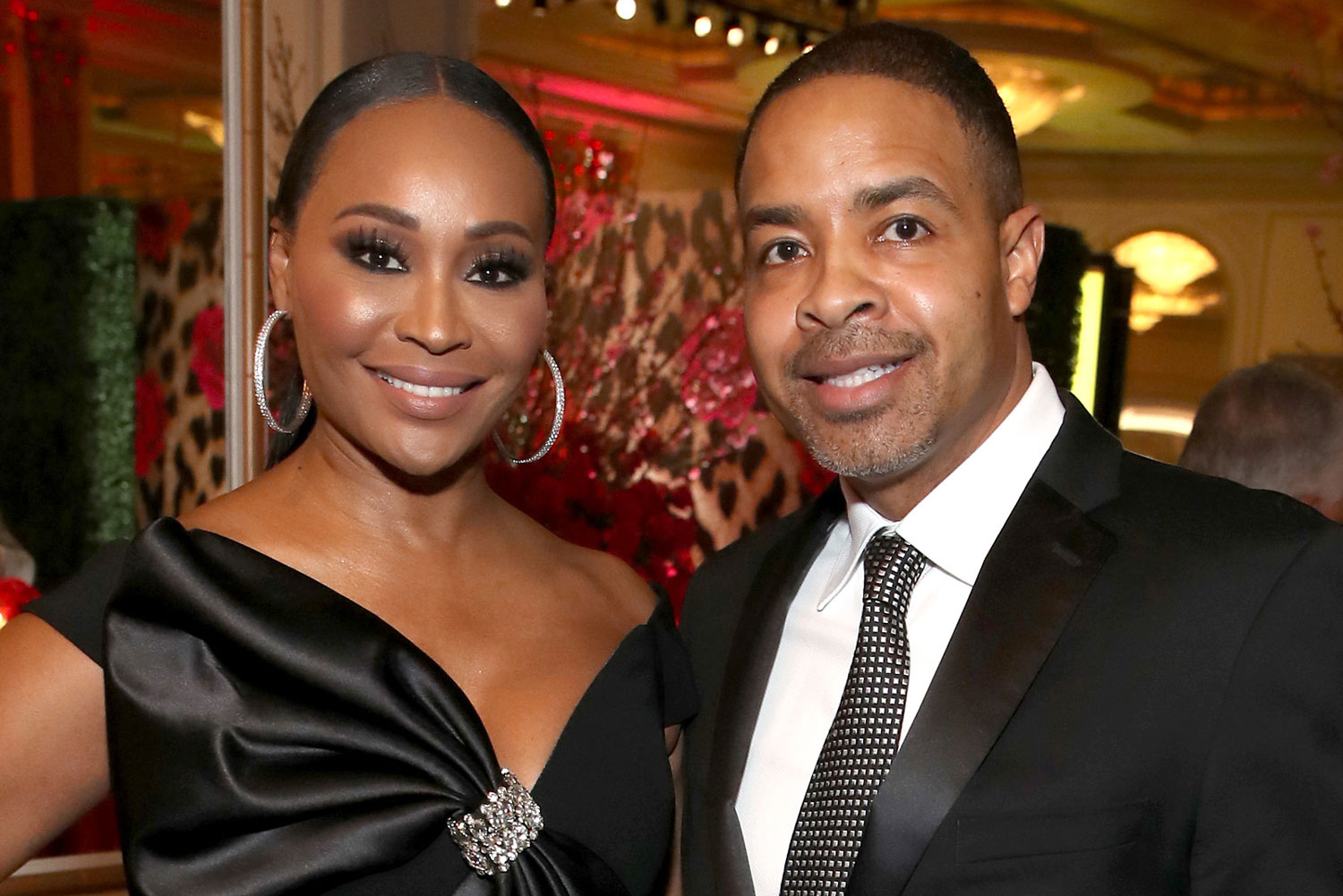 """cynthia-bailey-and-mike-hill-reportedly-wrote-their-own-vows-but-she-still-spoke-from-the-heart-during-the-ceremony"""
