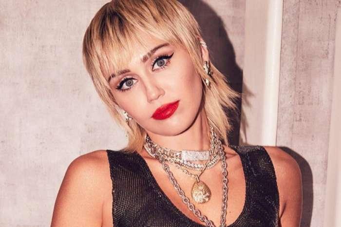 Miley Cyrus Stuns In Saint Laurent