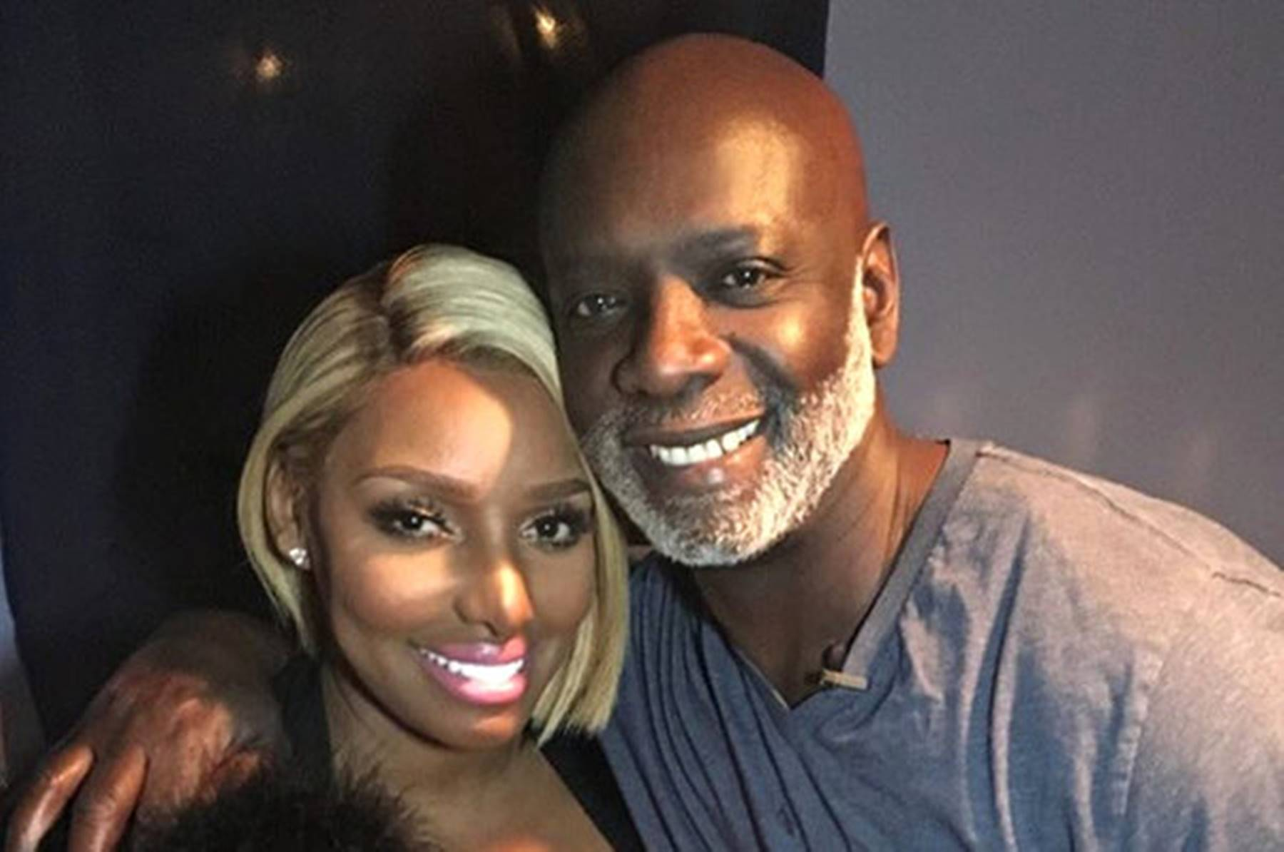 Peter Thomas Parties With NeNe Leakes For His Birthday - See The Video