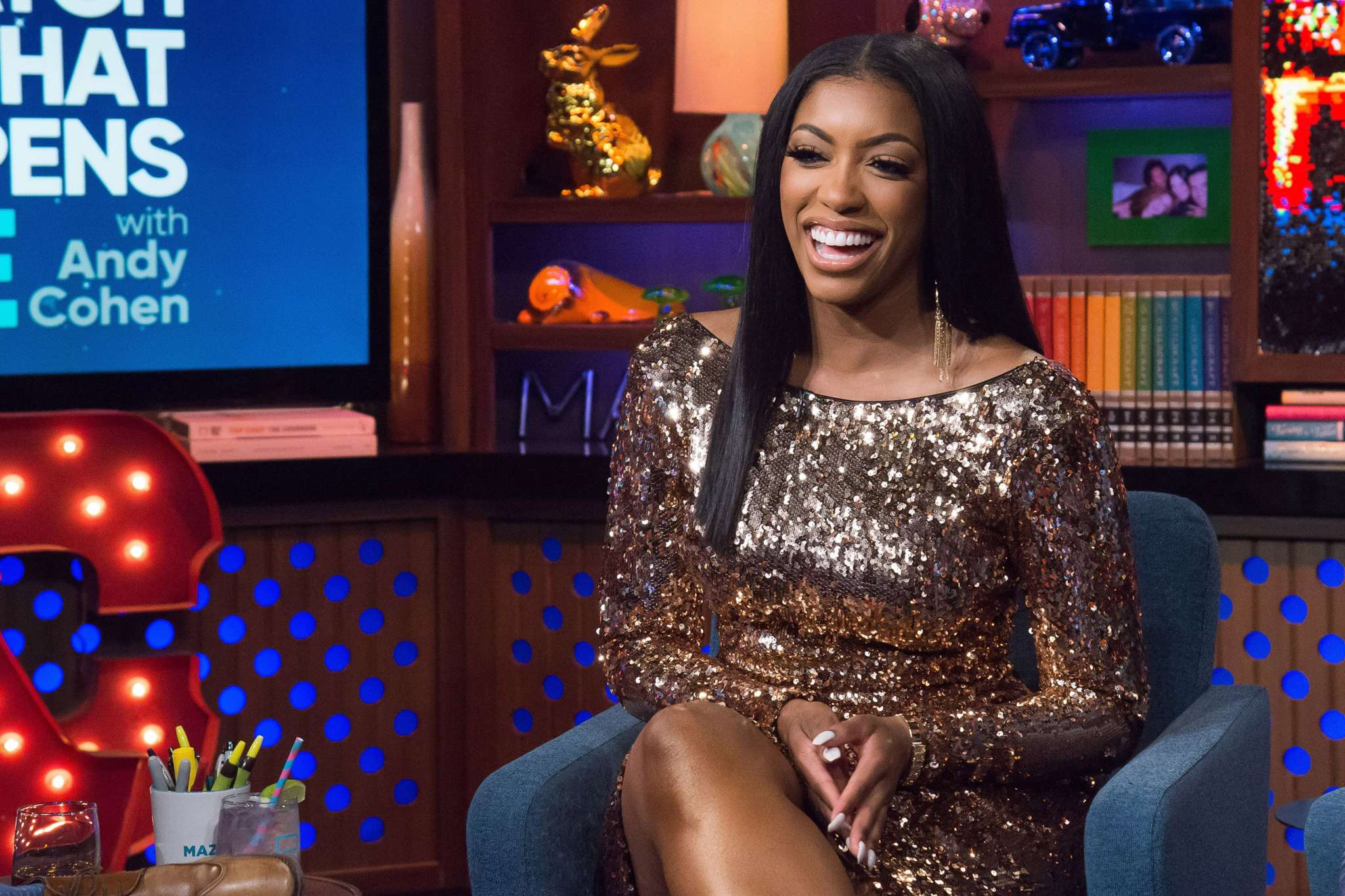 Porsha Williams Makes Fans Smile With This Message About The U.S.