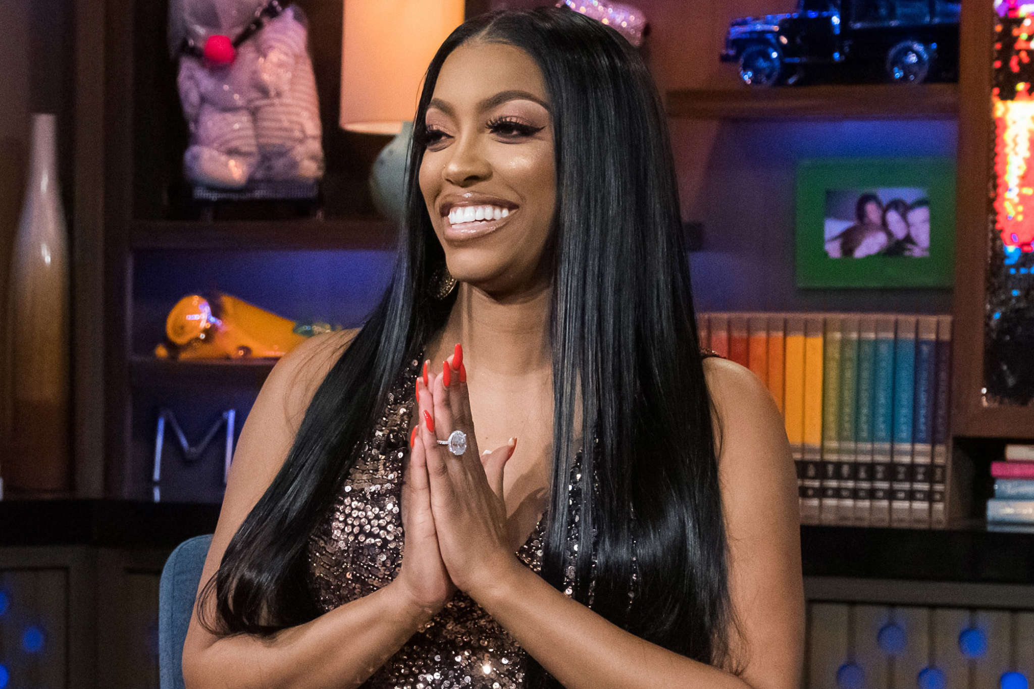 Porsha Williams Does The Deborah Cox Challenge - Check Out Her Funny Video